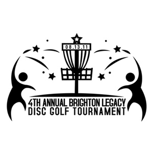 4th Annual Brighton Legacy Disc Golf Tournament logo