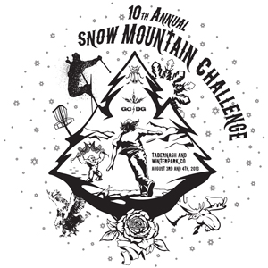 10th Annual Snow Mountain Challenge logo